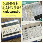 Summer Learning Notebooks