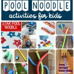 Pool Noodle Activities for Kids