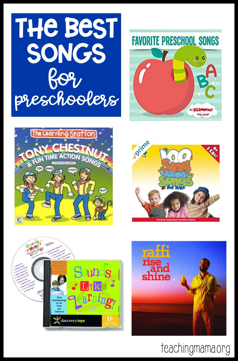 the best songs for preschoolers