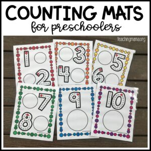 counting mats for preschoolers