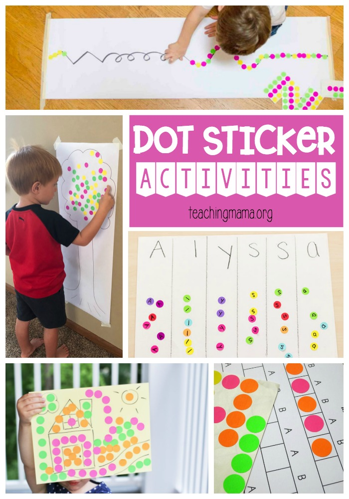 Dot Sticker Activities