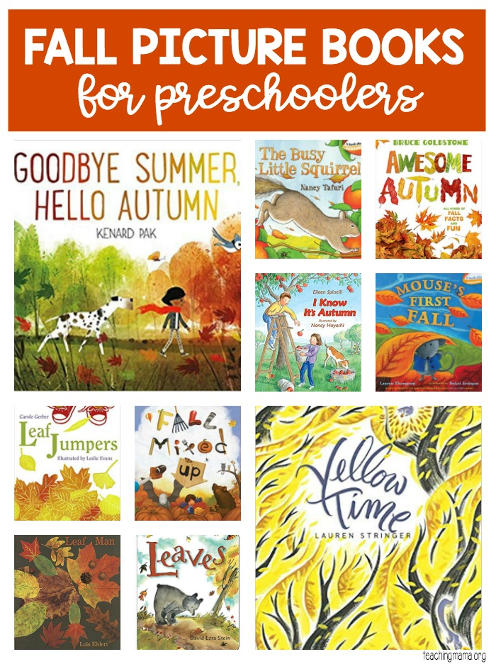 Fall picture books