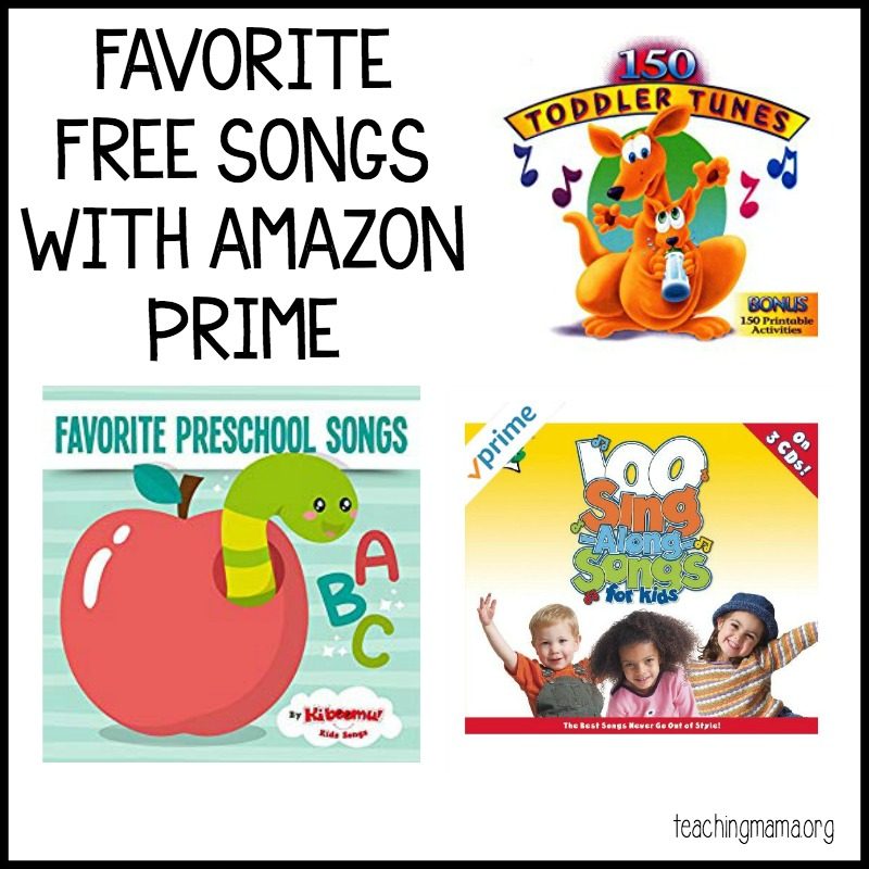 favorite free songs with amazon prime