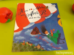 How to Make an Apple Pie and See the World – Book Activity