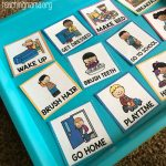 Visual Routine Cards for Before and After School