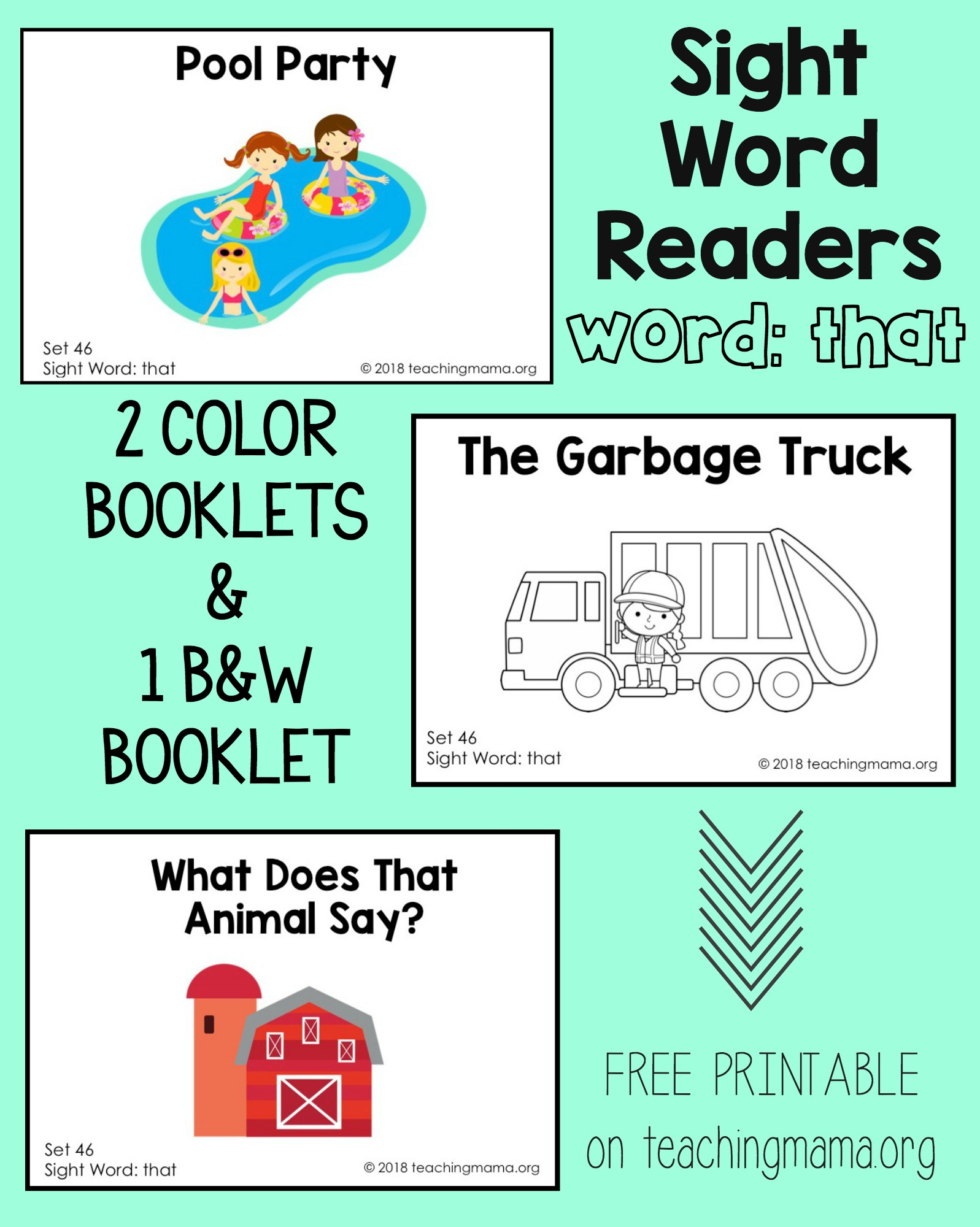 sight word - that