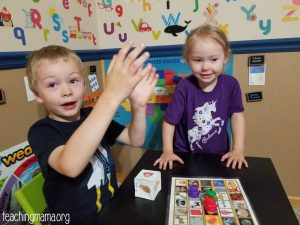 The 5 Senses – Printable Games