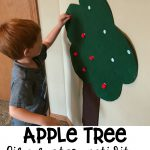 Apple Tree Fine Motor Activity