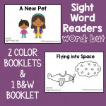 "Sight Word Readers for the Word ""But"""