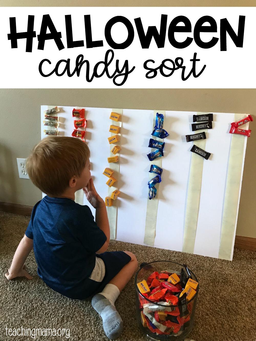 Halloween candy sort