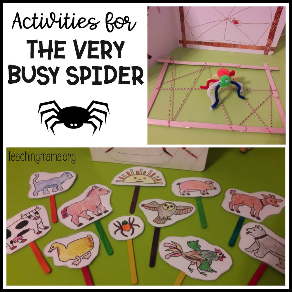 Activities for The Very Busy Spider