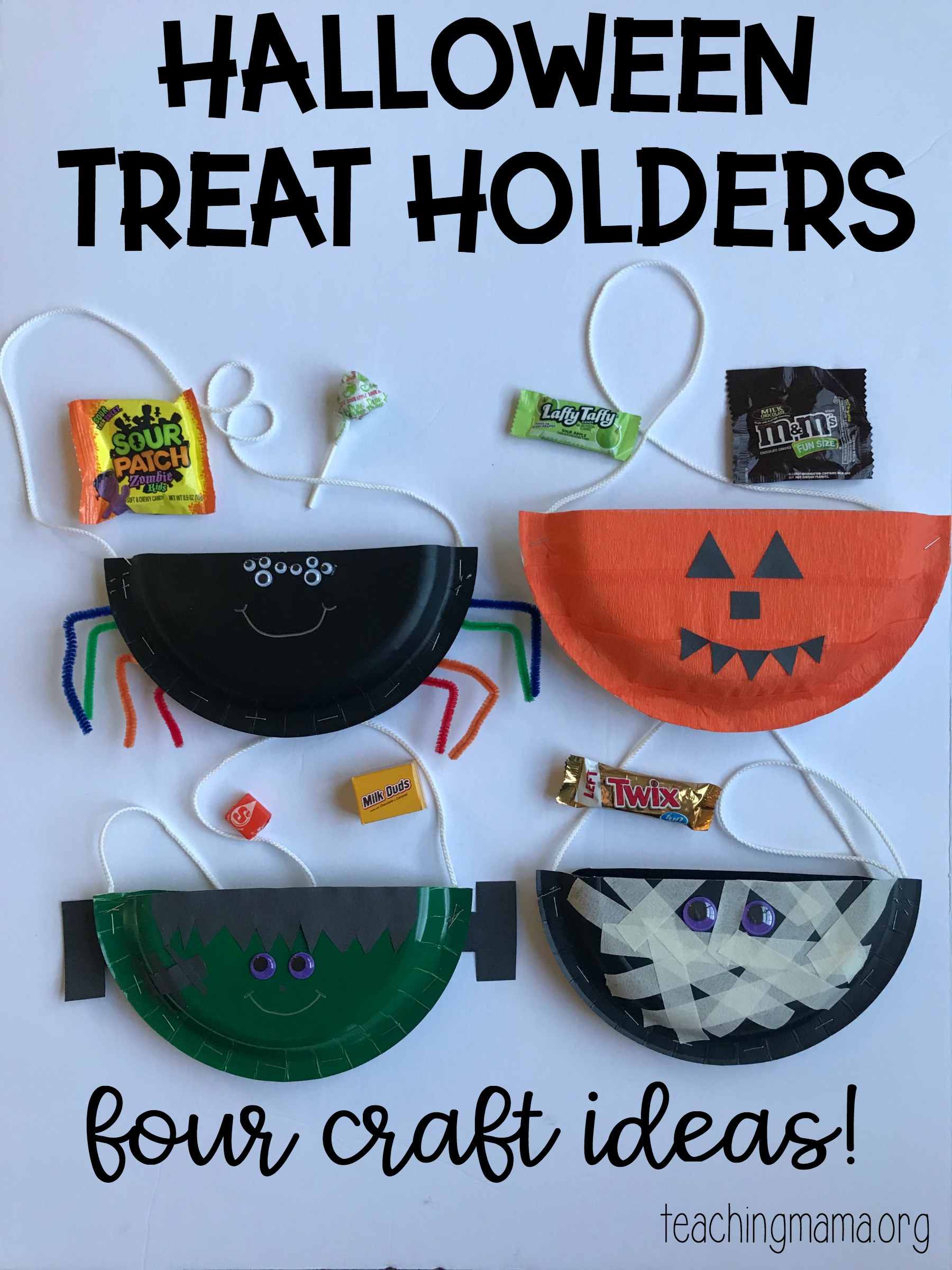 halloween treat holders