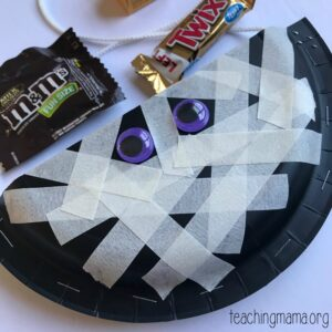 Homemade Halloween Treat Holders