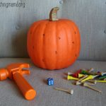 Hammer the Numbers – Pumpkin Activity
