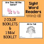 "Sight Word Readers for the Word ""All"""
