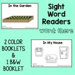 "Sight Word Readers for the Word ""There"""