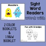 "Sight Word Readers for the Word ""With"""