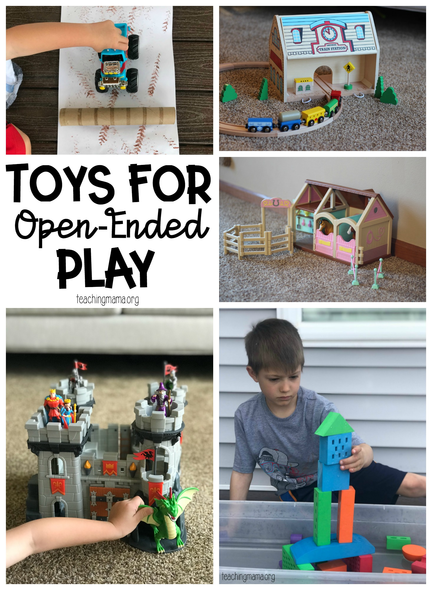 Toys for Open-Ended Play