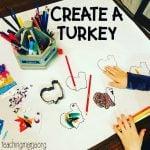 Create a Turkey – Thanksgiving Activity