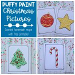 Puffy Paint Christmas Pictures