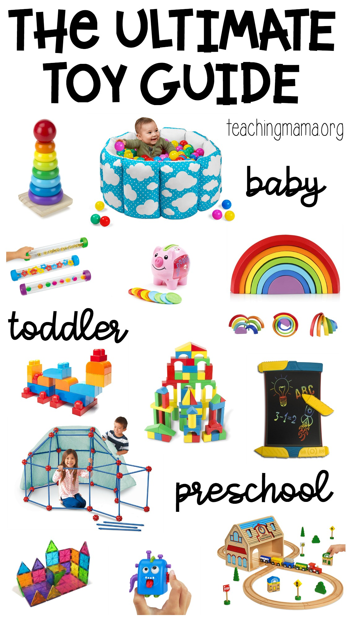 ultimate toy guide for babies, toddlers, and preschoolers