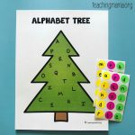 Alphabet Christmas Tree