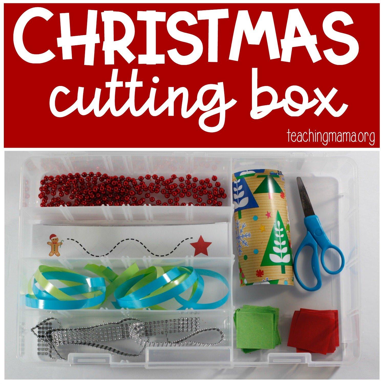 Christmas cutting box