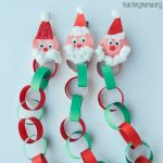Santa Christmas Countdown Chain