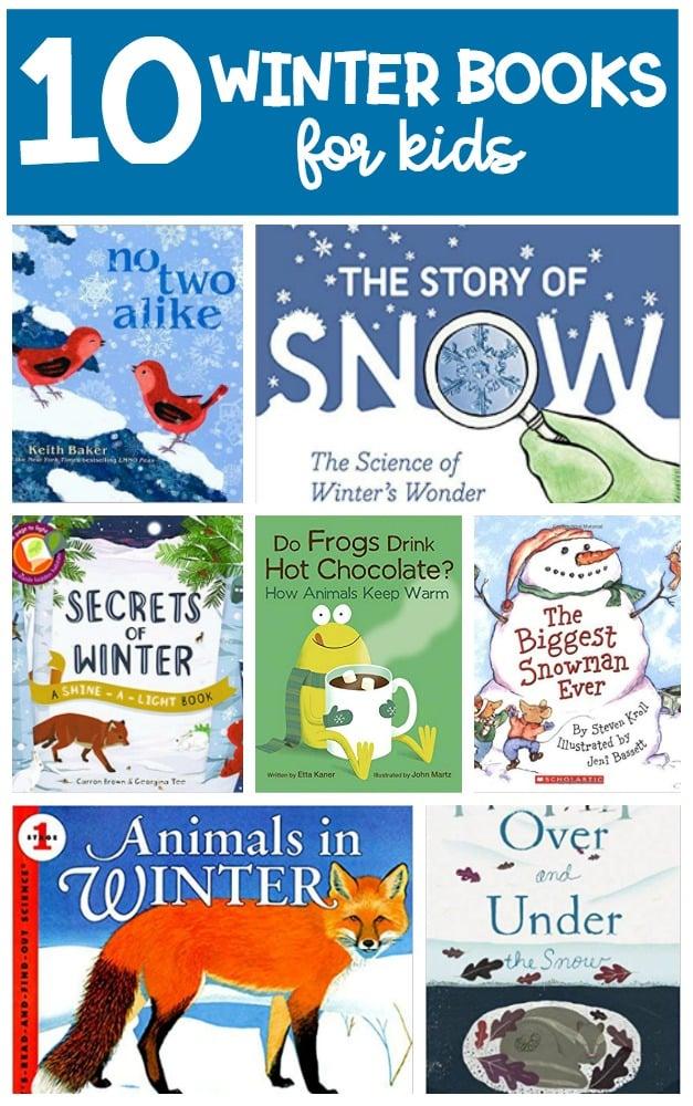 10 winter books for kids