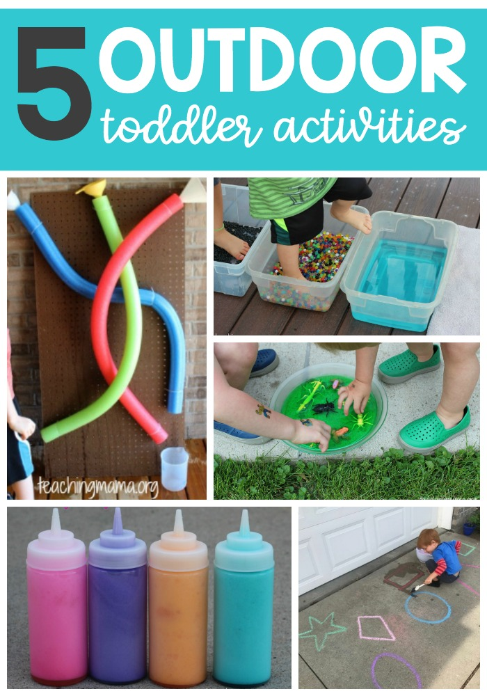 5 outdoor toddler activities