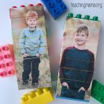 Picture Puzzles Using Duplo Blocks