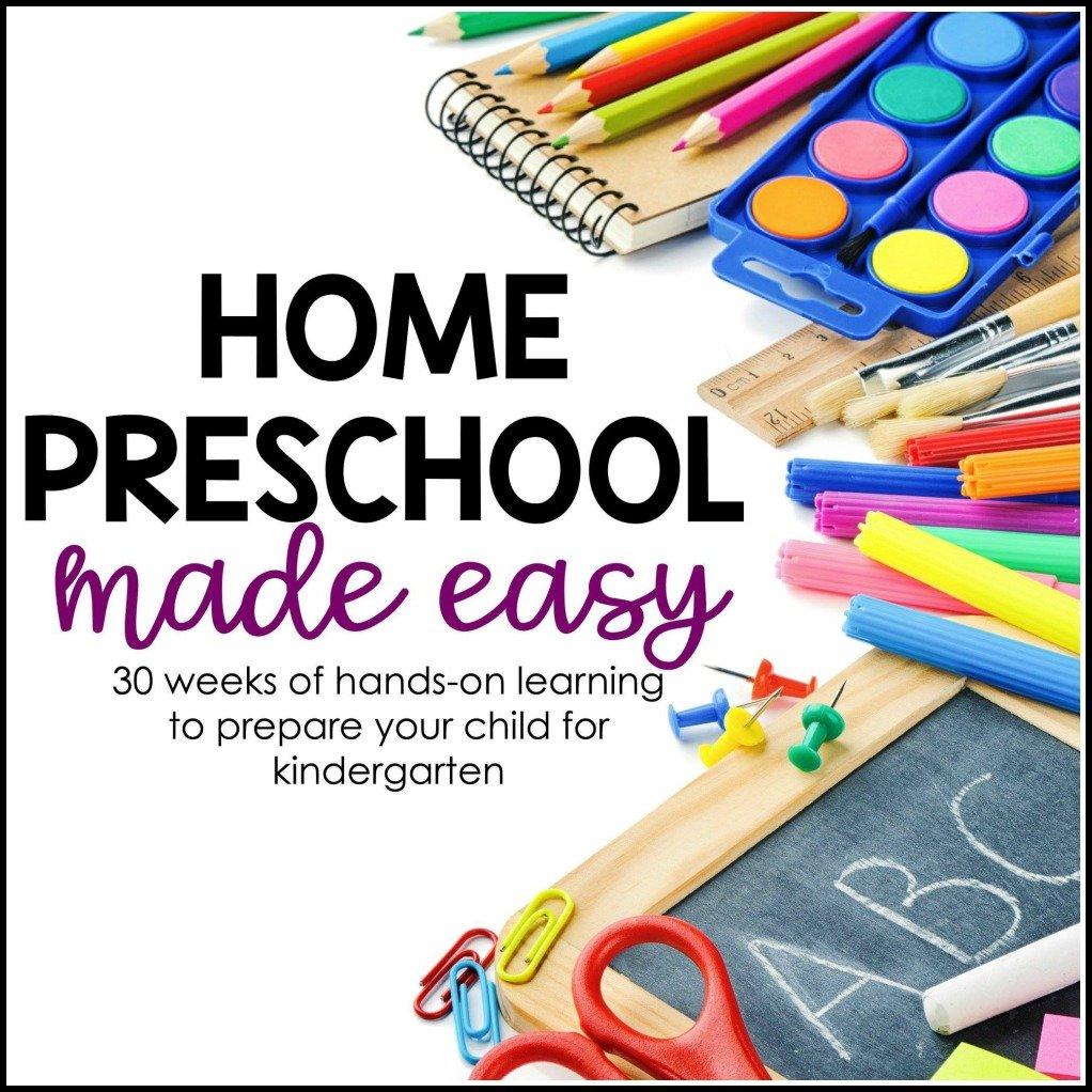 Home Preschool Made Easy