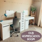 Our Homeschool Room for 2019