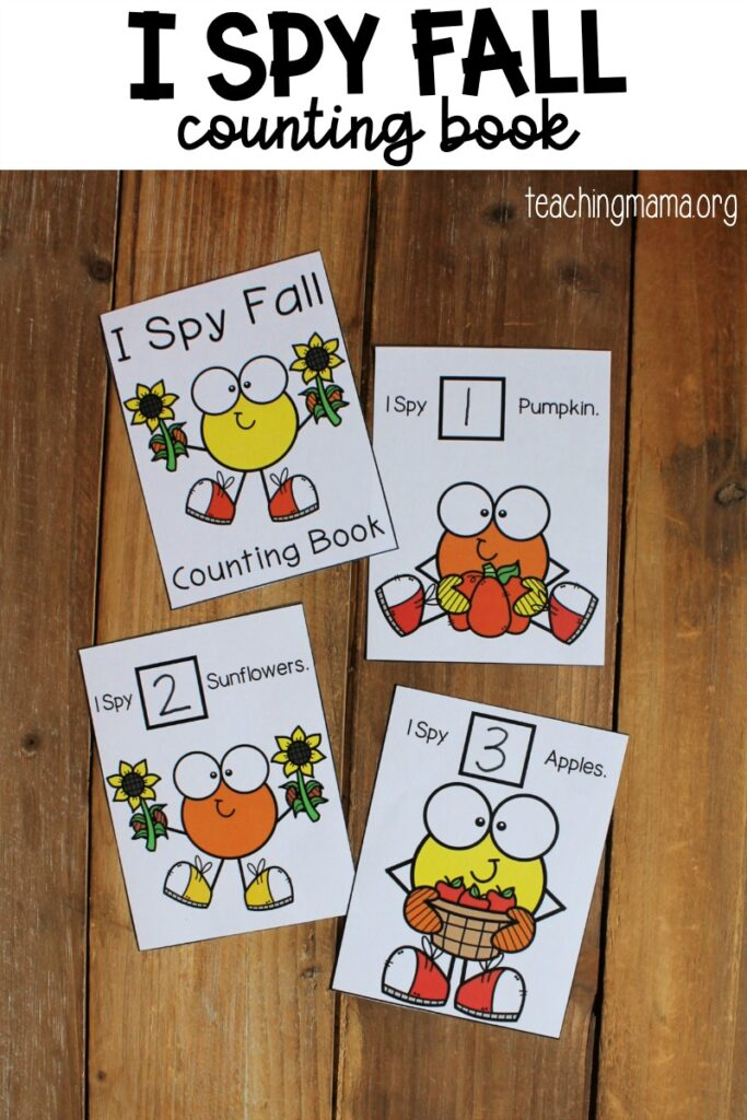 I Spy Counting Book for Preschoolers