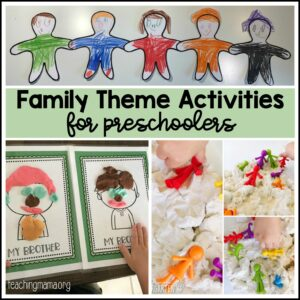 family theme activities for preschoolers