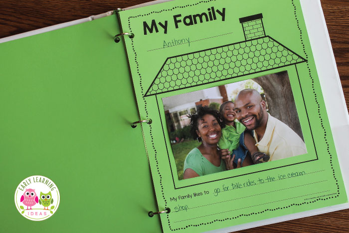 Preschool Family Theme Activities