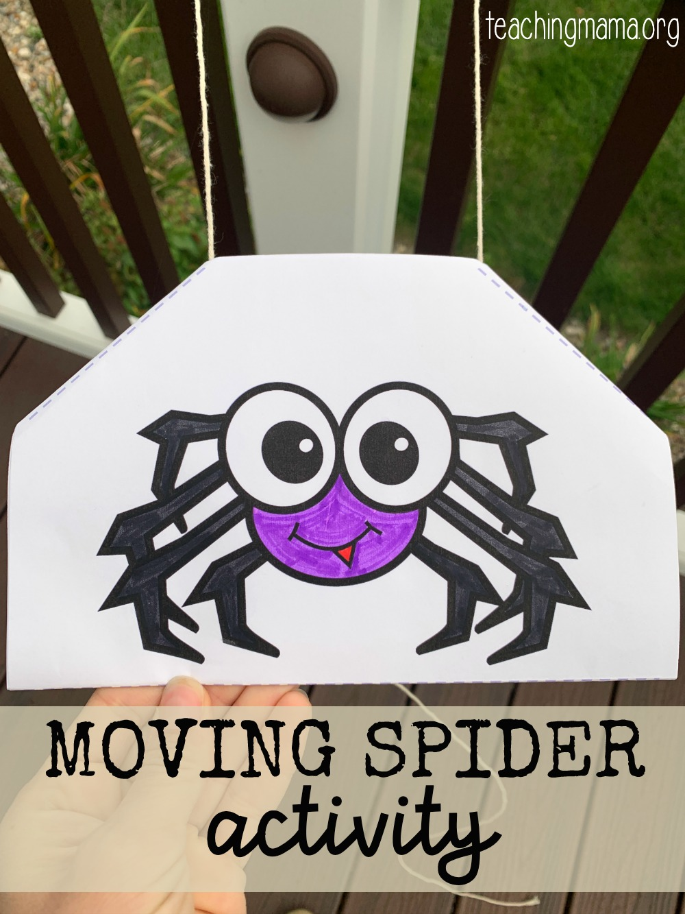 moving spider craft
