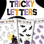 Tricky Letter Activities for Halloween