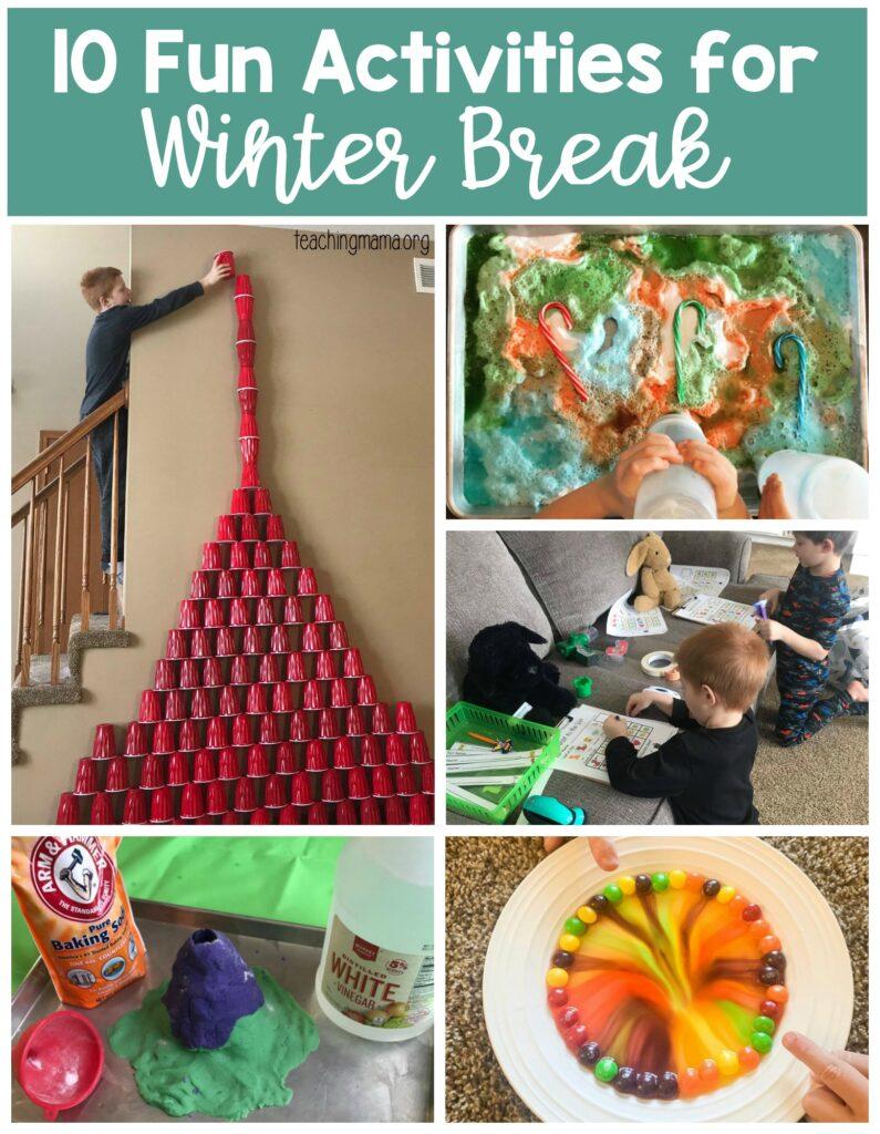 10 fun activities for winter break