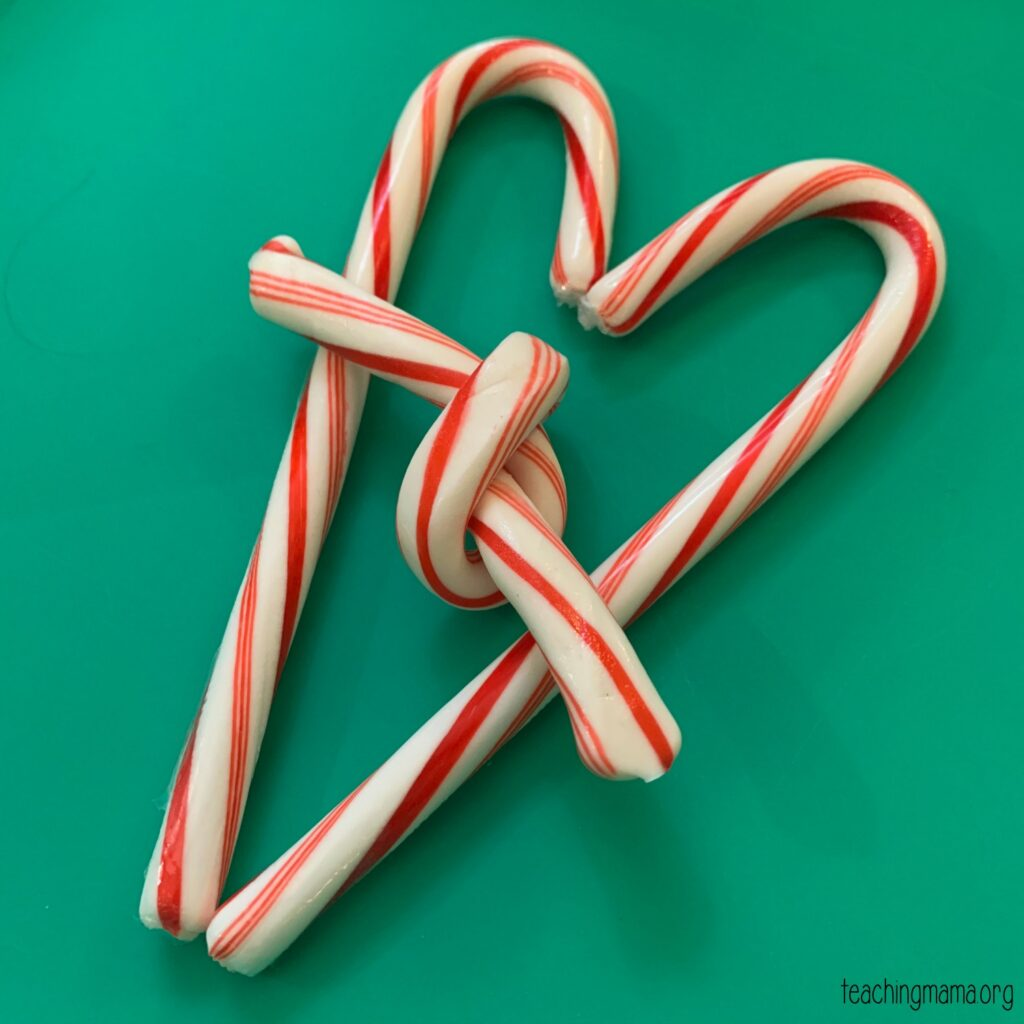 candy cane knot