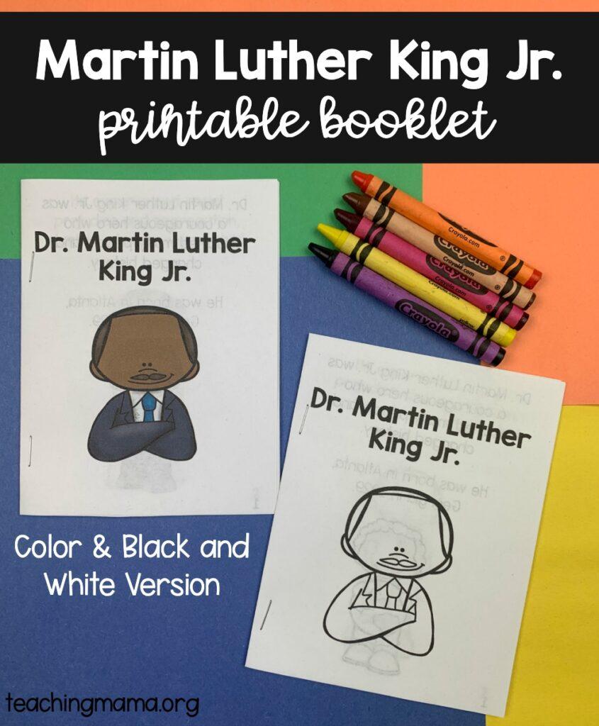 MLK Printable Booklet
