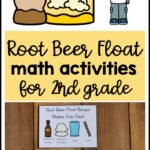root beer float math activities 2nd grade