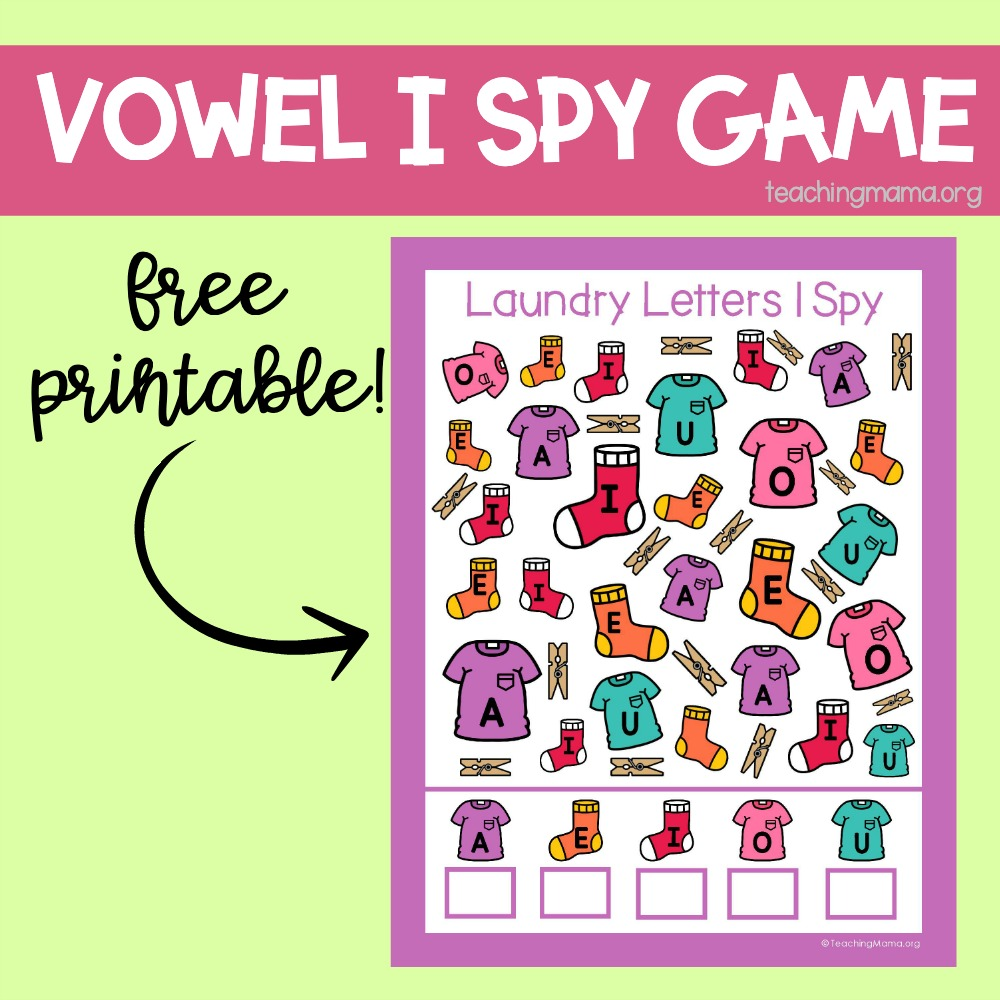 vowel i spy game