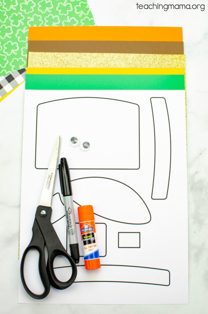 Leprechaun craft supplies