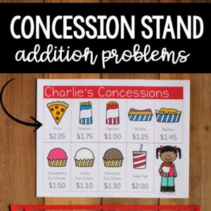 concession stand math