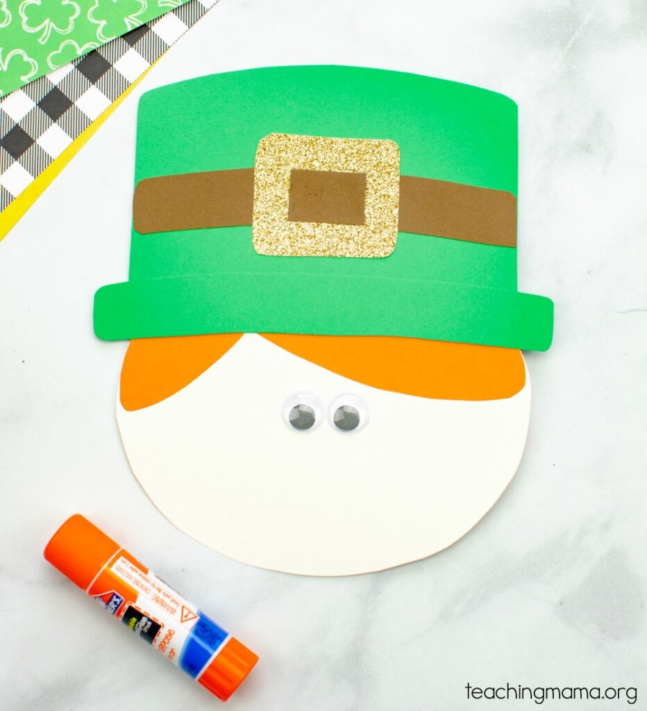 leprechaun face for craft