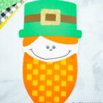 Leprechaun Craft with Woven Beard