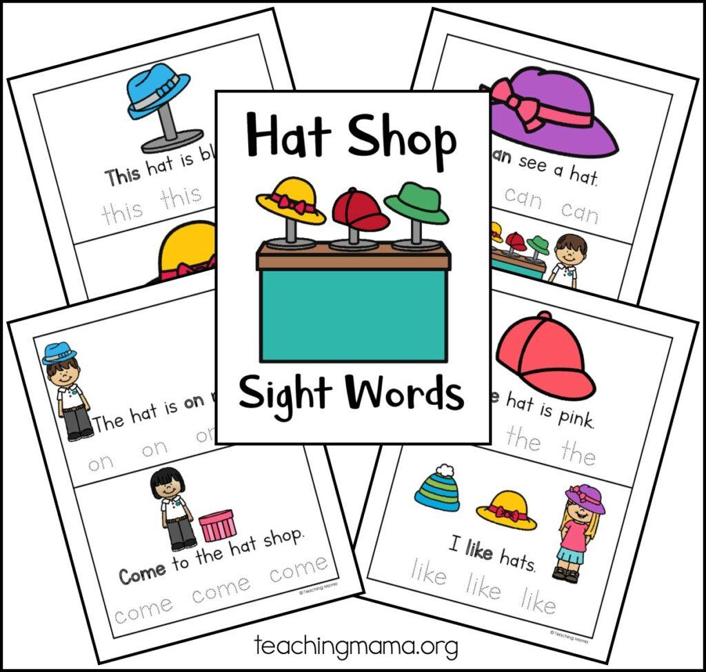 sight word practice sheets for kids in preschool