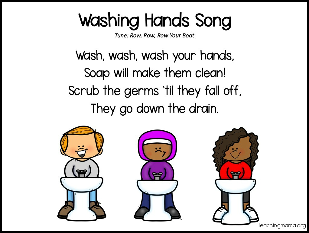 washing hands song for kids