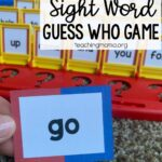 sight word guess who game